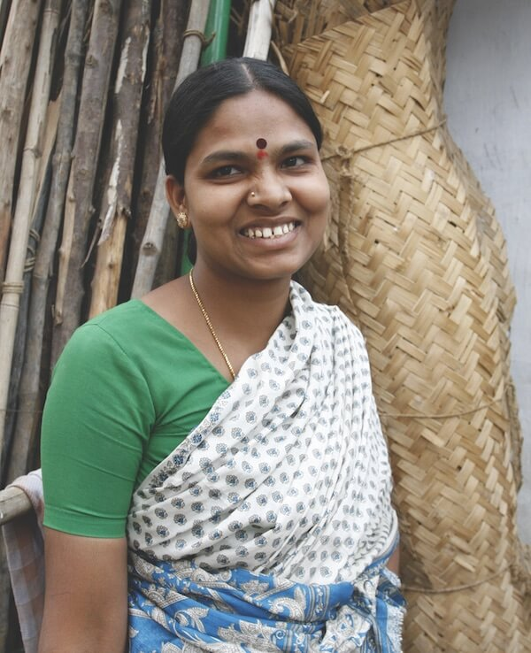 Radhika, health leader and Cashpor client, India